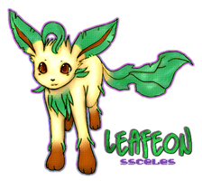 Leafeon by ssceles