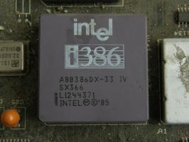 Intel i386 by Taradaciuc