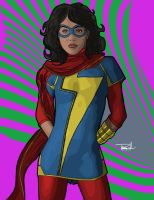 Ms. Marvel by tsbranch