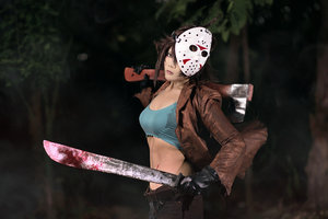 Jason Voorhees by Inushio
