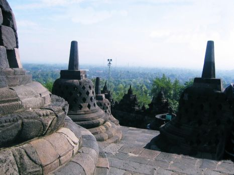 sky of Borobudur by Rstones1711