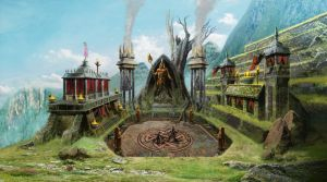 Environment Concept Art - Bloody Glory 02 by RodGallery