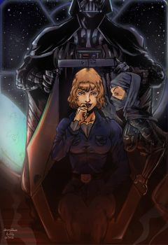 DARK LADY OF THE SITH 1 by Lightning-Powered