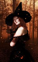 Halloween  Witch by Miss-deviantE