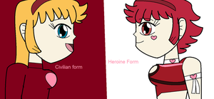 Re CH - Two sides of Honey Kisaragi by Britishgirl2012