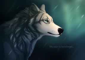 Lonliness is pain by TheMysticWolf