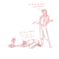 He Thinks the Ferret is the Avatar by elven-thespian