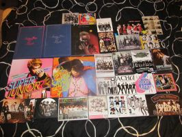 Super Junior CD Collection by SubterraneanTV