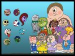 Garbage Pail Kids meet The Madballs by Lordwormm