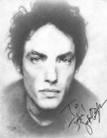 Jakob Dylan 'Signed' by justinsdrawings
