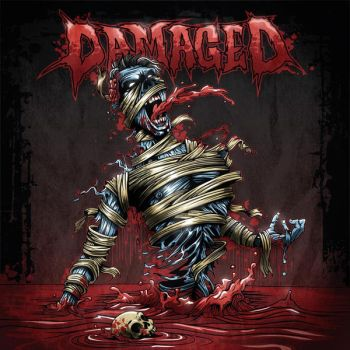 Damaged Cd cover by bazzier