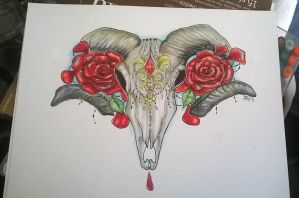 Ram skull thing by LimehouseBlues