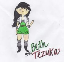 Beth Tezuka by CritterInvasion