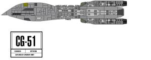 Cruiser Wyvern, CG-51 by fongsaunder