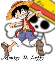 Monkey D. Luffy by Natsumemetalsonic