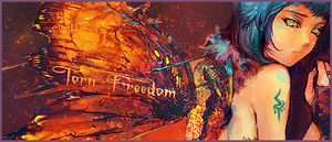 Torn Freedom by sachicolate