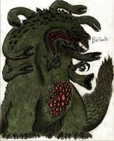 Biollante by MonsterKingOfKarmen