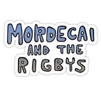 Mordecai and the Rigbys logo by adorpheus