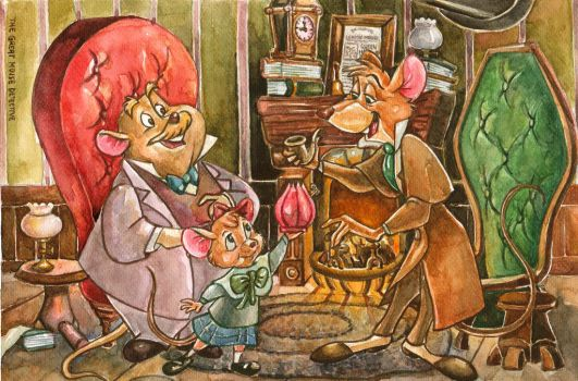 The Great Mouse Detective by thaomani