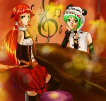 Trie and Po: for Hale-Hamasaki by Athena-King