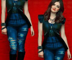 Lucy Hale Two 2 by Sweet-Tizdale
