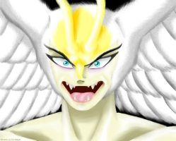Shirenu - Face by R-Wolverine
