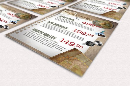 World Traveler - .psd Flyer by isoarts2