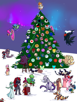 Christmas Tree (THE FINAL UPDATE!) by sulfurbunny