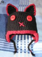 Hell Kitty - Cap by Grey-Wolf-86
