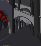 The Black Cathedral, exterior view by trs