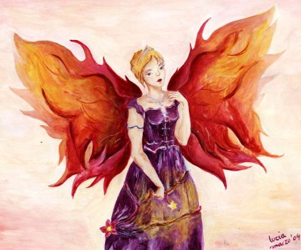 her wings are pure fire by paradegritar
