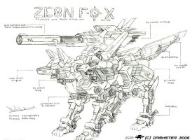 Zeon Fox by Dashster