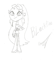 Blackfire (Teen Titans Go!: Art Concept) by imperial96