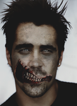 Special Edit: Colin Farrell Zombie 1 by blackmasque99