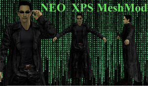 Neo Matrix XPS MeshMod by Tony-Antwonio