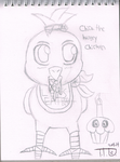 Chica The Hungry Chicken by TipToeDynamo