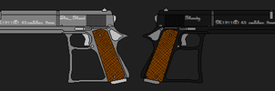 custom pistols revisited by The----Ghost