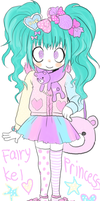 fairy kei princess by solipolly