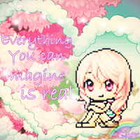 Everything you can imagine is real. by Sherx3