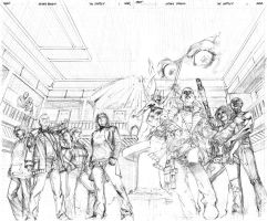 The Complex cover pencil by fragcomics