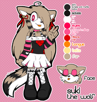 Suki Ref Sheet - sonicgirl21 by SEMC