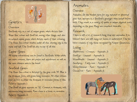 The Breedbook - Genetics And Anomalies by Tattered-Dreams