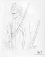 Vergil Sparda Devil May Cry 3 by Rage-DN