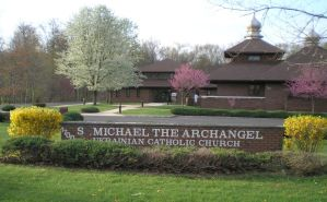 Front of St Michael Church by steward