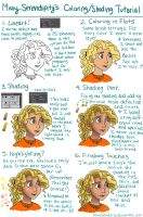 Coloring/Shading Tutorial by MissySerendipity