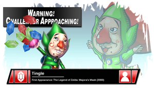 SSB4 Banner: Tingle by Pixiy