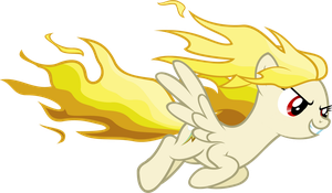 Golden Rainbow Dash [Request] by Zacatron94