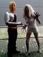 Witch and Edward Elric by Kalix5