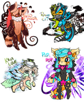 Species Collab Adoptables CLOSED by Budd-a