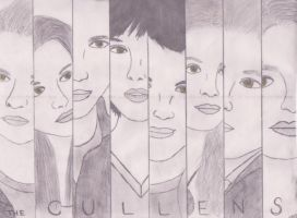 The Cullens - Face Strips by musical-miss